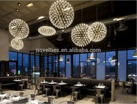 High-End Architectural Hanging Lighting Restaurant Banquet Hall Commerical Store Decorative Pendant Lamp