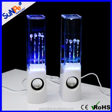 Made in China Mini Potrable Dancing Water Music Music Bluetooth Speakers with Led Light