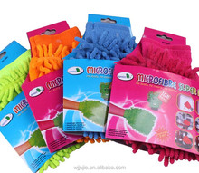 Poular chenille cleaning gloves for car