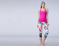OEM lady sport elastic panty, slim-fit leggings of yoga gym riding running trousers