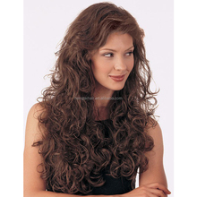 Top Quality Long Wavy Hairstyle Capless Synthetic Hair Wigs For Beauty Women About 24 Inches