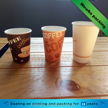 Cheap disposable single wall custom printed stackable paper cups
