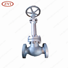 Rising Stem Bolted Bonnet Stainless Steel Manual wcb y type globe valve