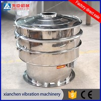 Xianchen medicine circle machine stainless steel rotary circular vibrating sieve
