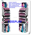 point of purchase lipstick display stand with 3 tiers cardboard lipstick display