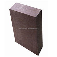 Magnesia Chrome corundum refractory brick using in high temperature kilns