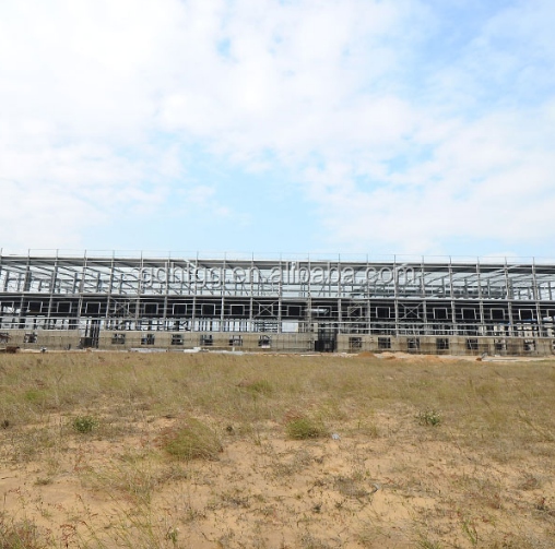 large span prefabricated building system steel structure