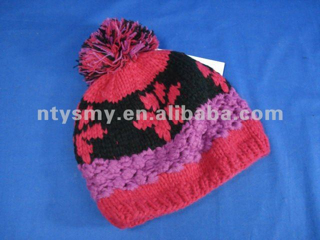 Promotional winter warm beanie hat