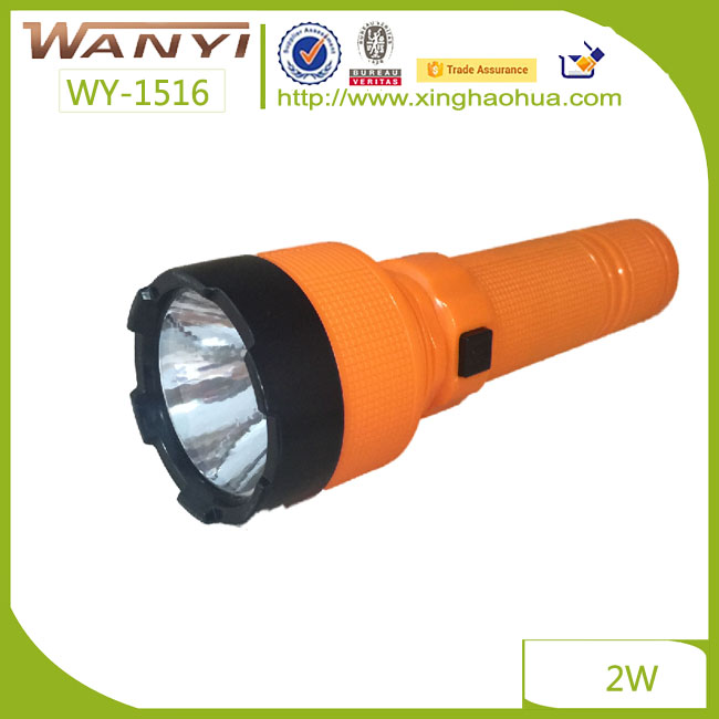 Cheap Plastic Rechargeable Flashlight Working Led Torch Light/ small torch