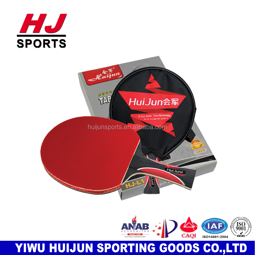HJ-L117 HUIJUN Star series Professional Long handle Tennis Rackets Ping Pong paddle poplar wood 5 STARS Ping Pong paddle racket