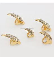 Masquerade Props False Nail Sets Claw Paw Talon Finger Ring