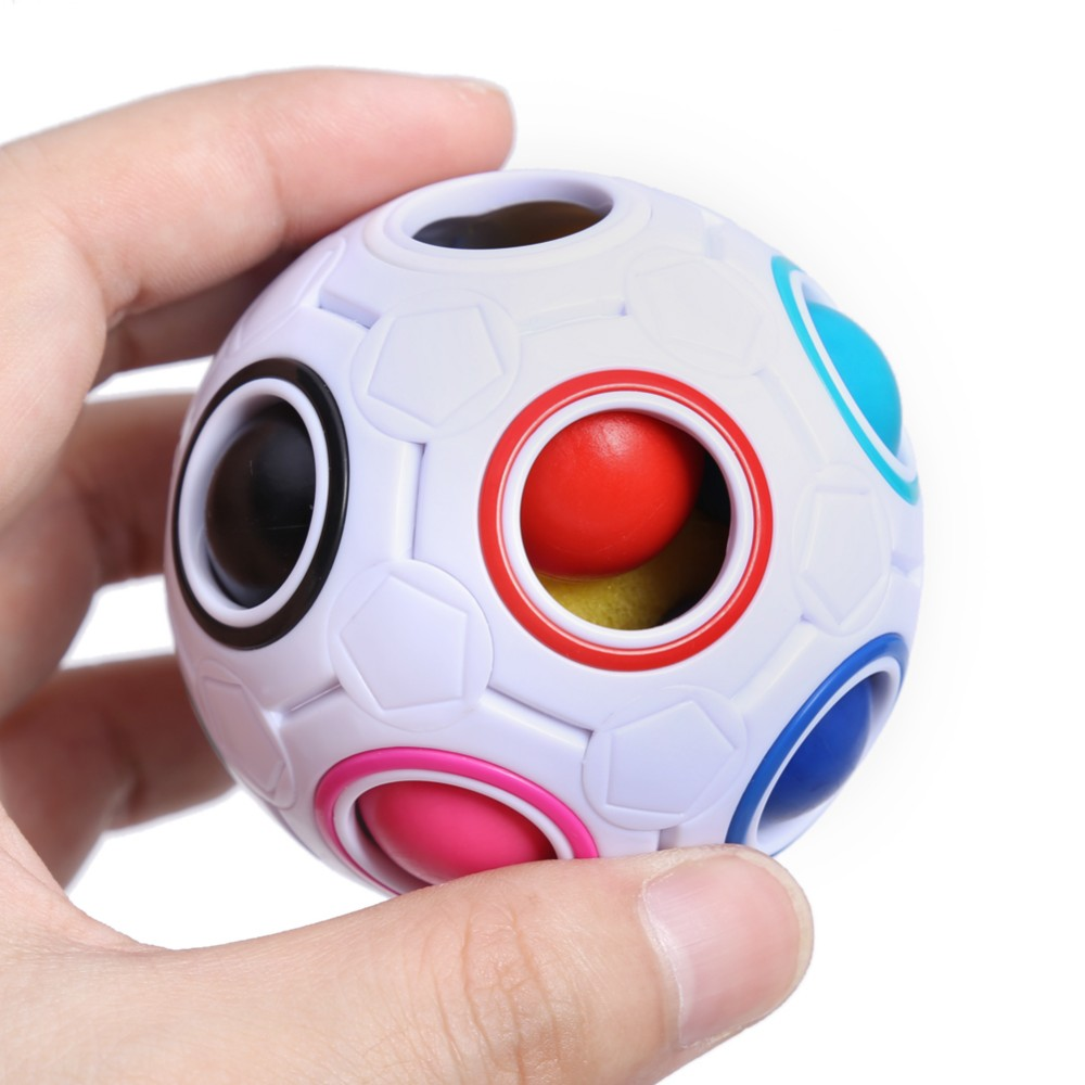 Rainbow Ball Magic Cube Speed Football Fun Creative Spherical Puzzles Kids Educational Learning Toys <strong>games</strong> for kids adult gift