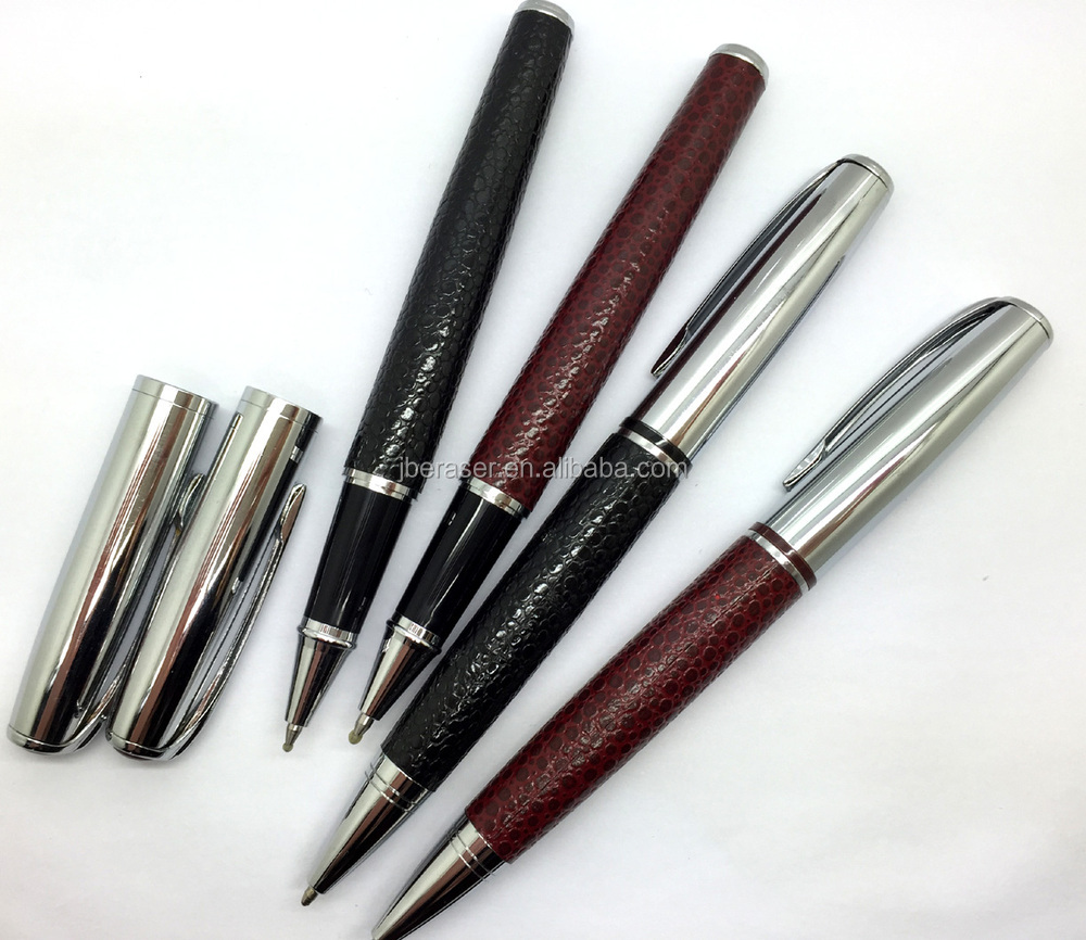 shining barrel twist airline stainless steel ball pen
