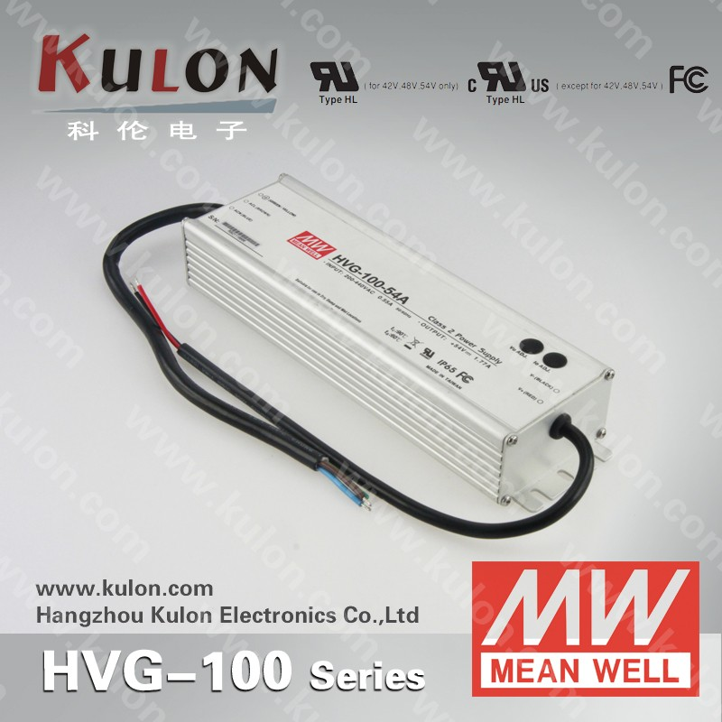 Mean Well LED Driver supply HVG-100-15B 15V 100W Dimming led power supply circuit