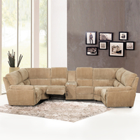 Shenzhen furniture sectional living room sofa in fabric 2015 new designed hot selling models corner sectional sofa set