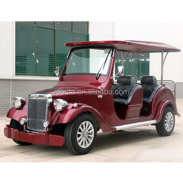 CE cert mini Electric wedding car 8 seater cheap golf cart for clubs
