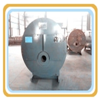 WNS Series three return structure oil/ lpg gas fired steam boiler for hotel
