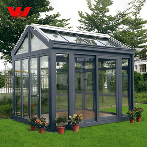 Hot sale outdoor garden design cheap price glass sun house