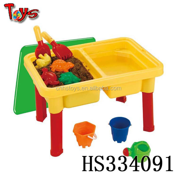 nice colorful sand pit garden tool names
