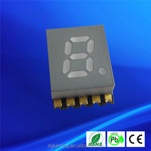 "0.2 inch seven segment small size 0.2"" single digit 7 segment smd led display"