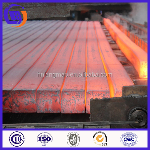 China Hot Rolled Square Steel Billet Size for Sale (Export)