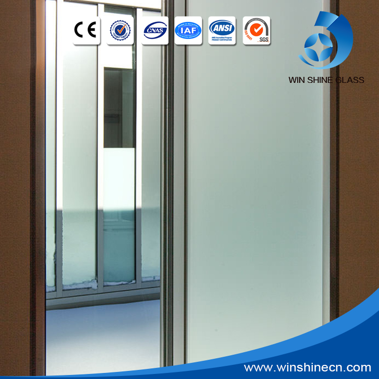 Iso Certificate Frosted Glass Partition