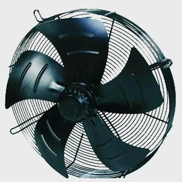 Reasonable price 400mm heat resistant out-rotor axial fan for evaporating unit