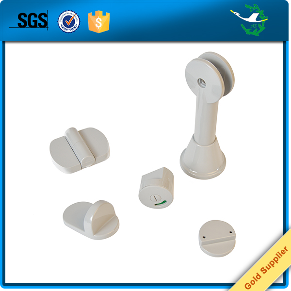 Hongsheng stainless steel plastic toilet hardware cubicle accessories