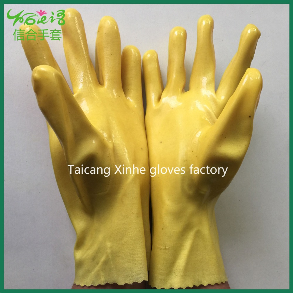 East Asia 028 oil resistant gloves acid proof anti-corrosion working gloves