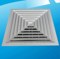 air ceiling diffuser / ventilation grille air louver ceiling diffusers air diffuser