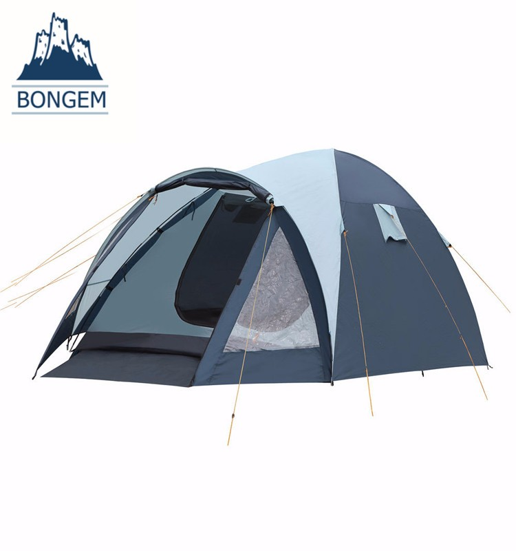 Large family 5 persons outdoor camping house tent