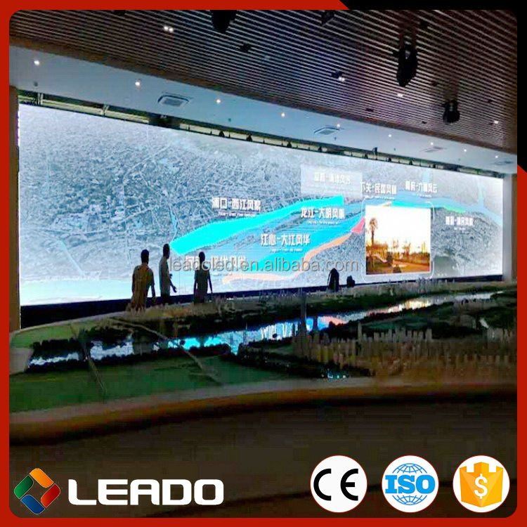 China gold manufacturer Discount led stage rental indoor advertising