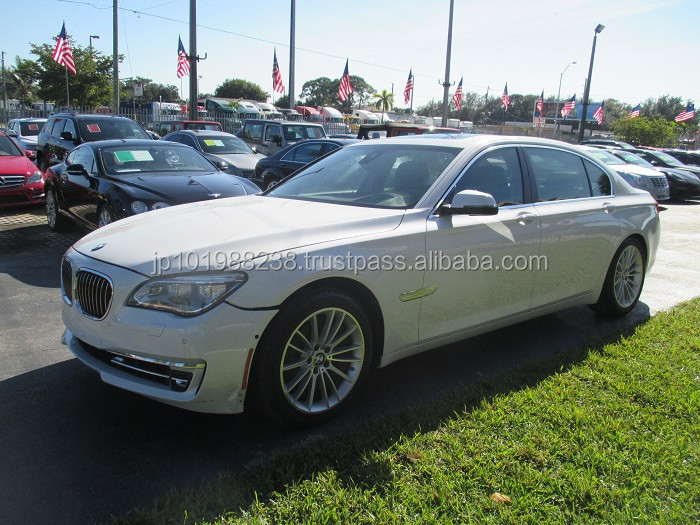 USED CARS -BMW 7 SERIES - FLOOD-BAD ENGINE (LHD 819411)