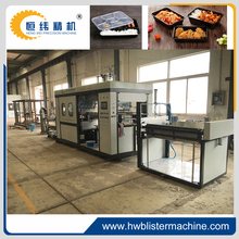 PET plastic food tray vacuum forming machine
