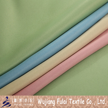100% Polyester Two Sides Dull Plain Blackout Sunproof Fabric