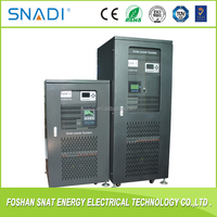 Manufacture Price Three Phase 10kw 20kw 30kw 40kw Solar Power inverter with built-in Charger