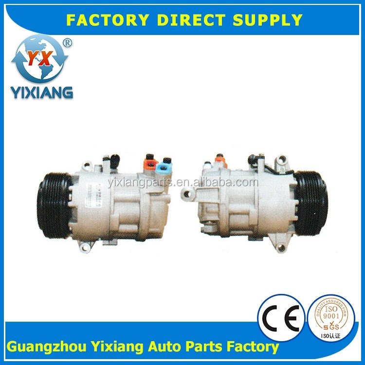 64526908660 110MM 6PK Clutch Auto Compressor, Automotive Electric Air Conditioning Compressor For BMW E46