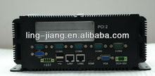 x86 embedded mini box pc with PS2 and LPT (LBOX-GM45)