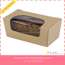 paper cardboard birthday cake box with window ,cute paper cake box,small cake boxes