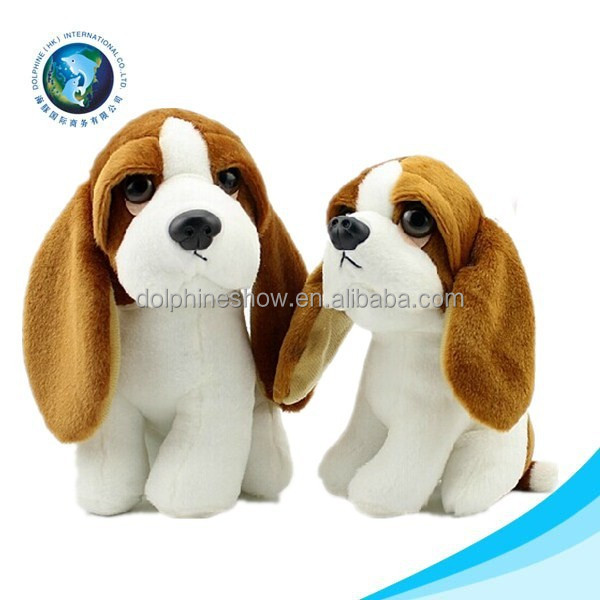 Korea material plush dog toys