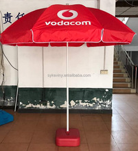promotional beach umbrella brand printing umbrella advertising beach umbrella with printing pattern