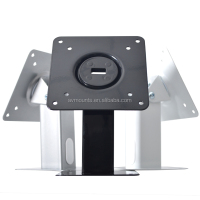 Customzied Commercial Use Display Metal Cold Rolled Steel 360 Degrees Swivel Anti-theft Tablet Kiosk Stand