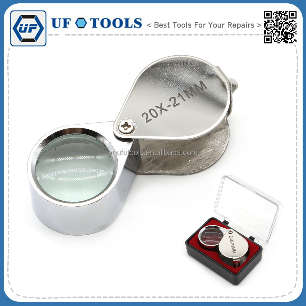 Cheap Portable 20X Jewelry loupe magnifier