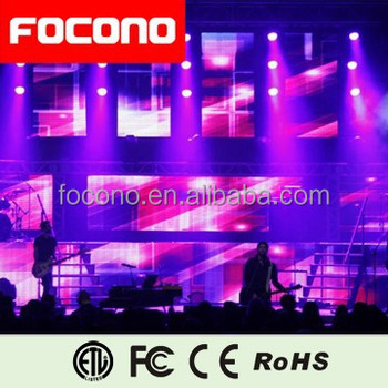 2016 Hotsell Stage Rental High Brightness Indoor Led Displays