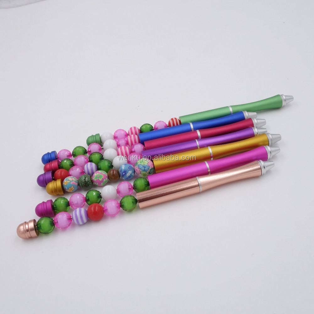 fancy decorative beadable <strong>pens</strong> custom logo <strong>pen</strong>