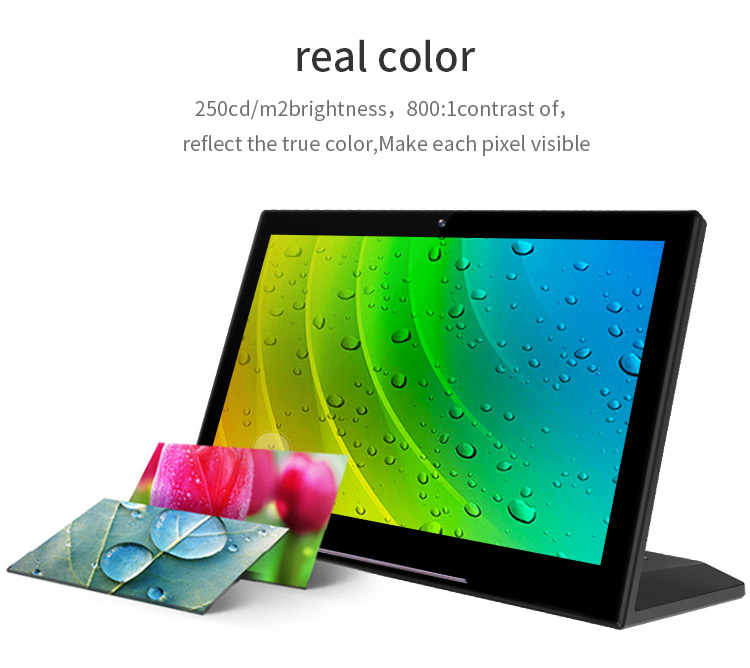 10.1 inch 5 point capacitive touch screen android tablet 10 inch pc all in one for advertising