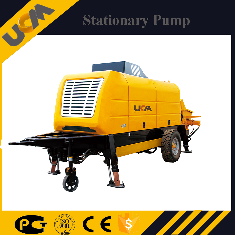 Best machine with certificate of origin Hold Trailer Concrete Pump Hbt60-13-132s