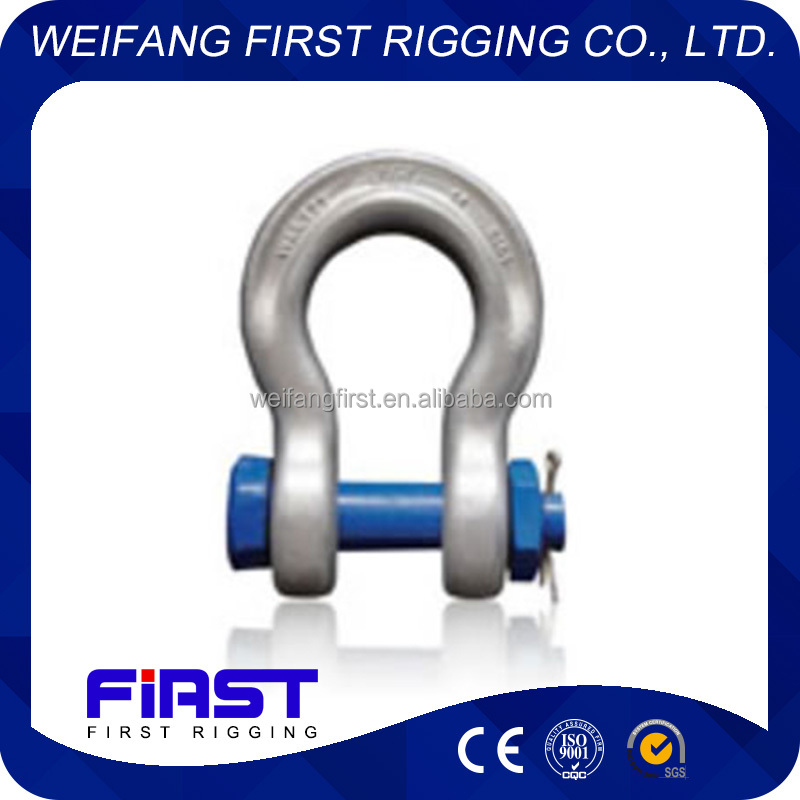 plastic spraying bow shackle