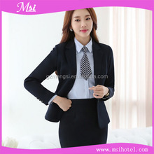 china factory wholesale cheap newest design hotel and restaurant manager uniform