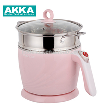 Mini colorful 2017 new product multi-function cooker 8 in 1 electric cooking 1.2l mini portable rice cooker pot